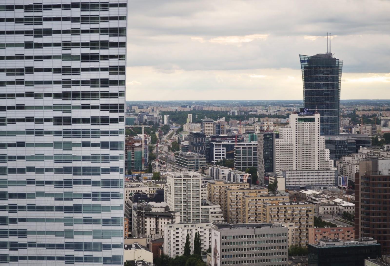 Czy chciałabym mieszkać w Warszawie?